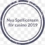 nya spellicensen for casino 2019